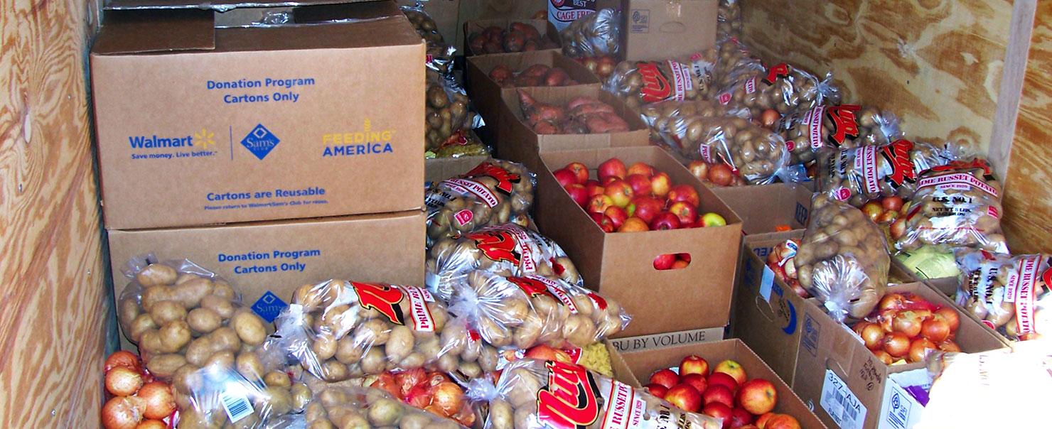Walmart Feeding America